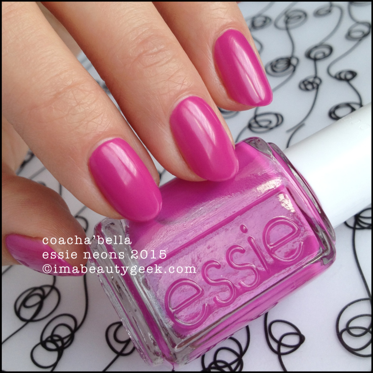 Essie Neon 2015 Collection_Essie CoachaBella Neon