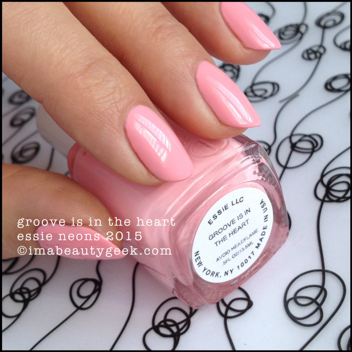 Essie Groove is in the Heart Essie Neon Collection 2015