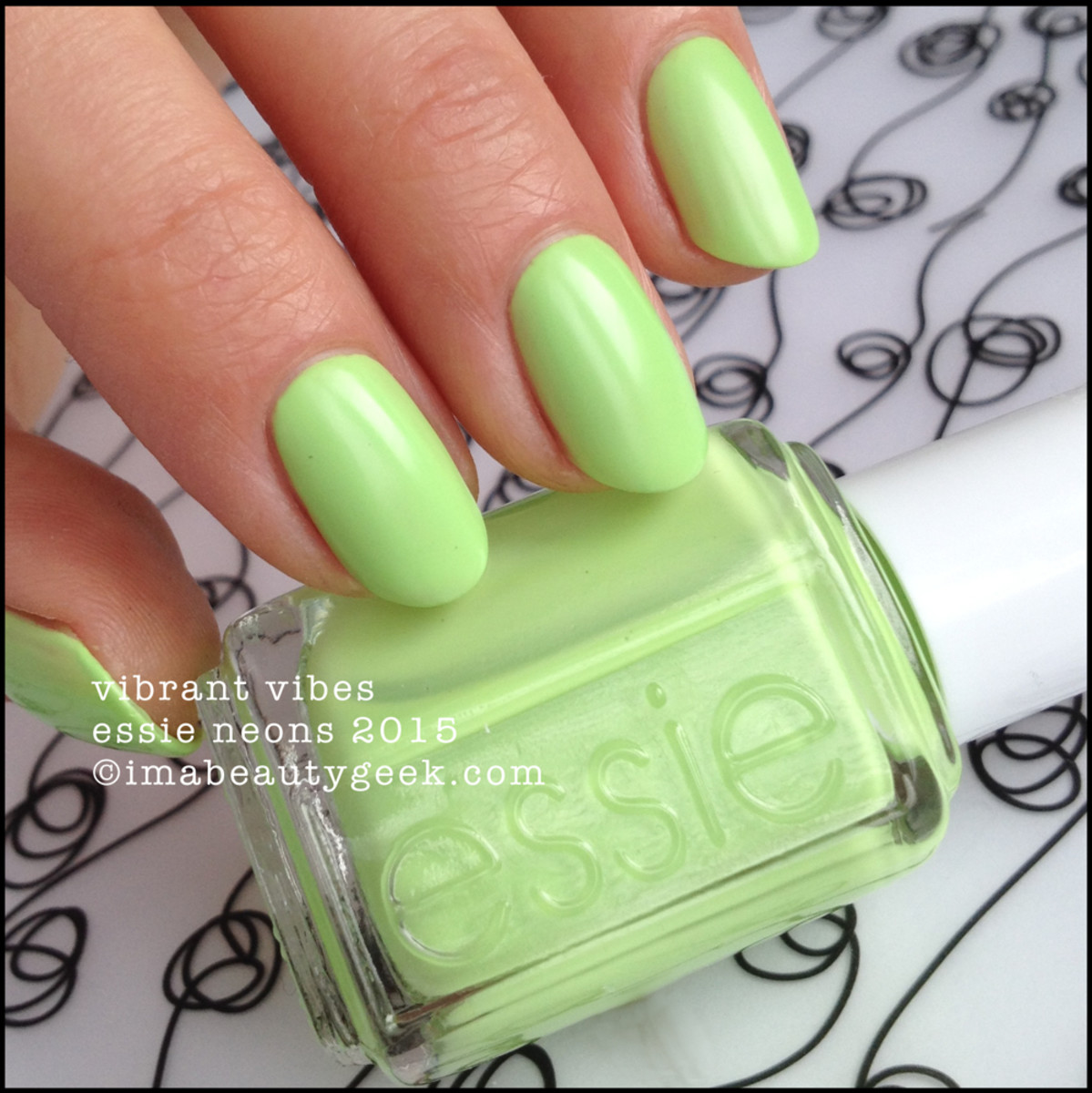 Essie Neon 2015 Collection Essie Vibrant Vibes