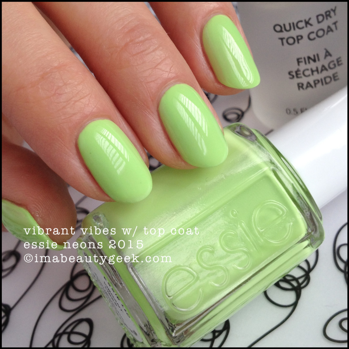 Essie Vibrant Vibes_Essie Neon Collection 2015