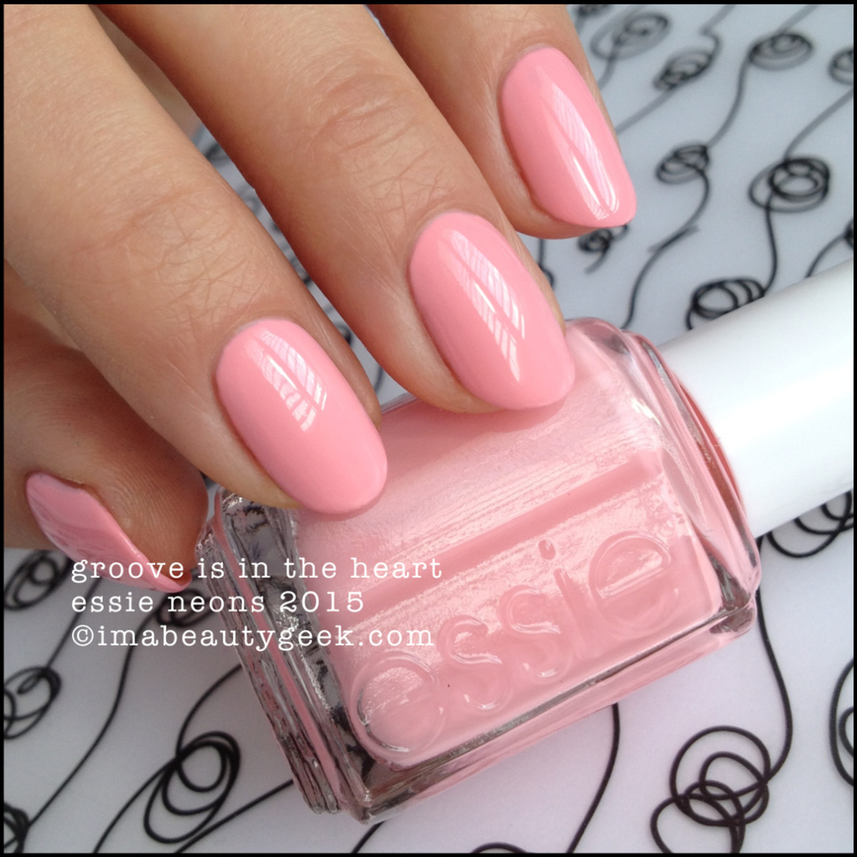 Essie Neons 2014 Groove is in the Heart Swatch_2