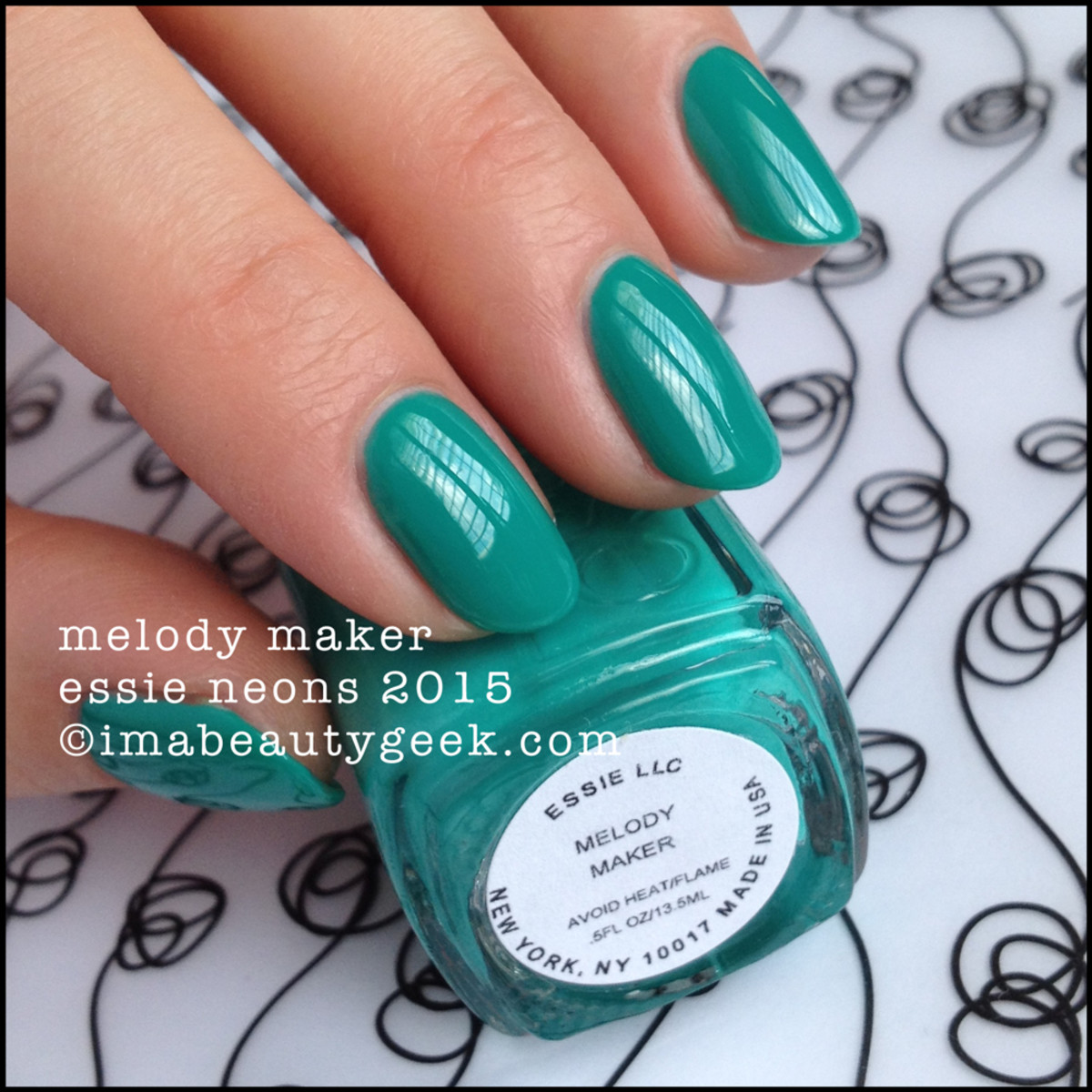 Essie Neon Collection 2015 Melody Maker Swatches