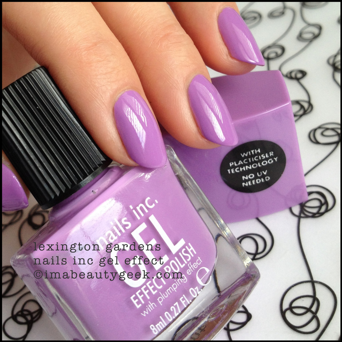 Nails Inc Lexington Gardens Gel Effect Nail Polish ManiGeek Swatch