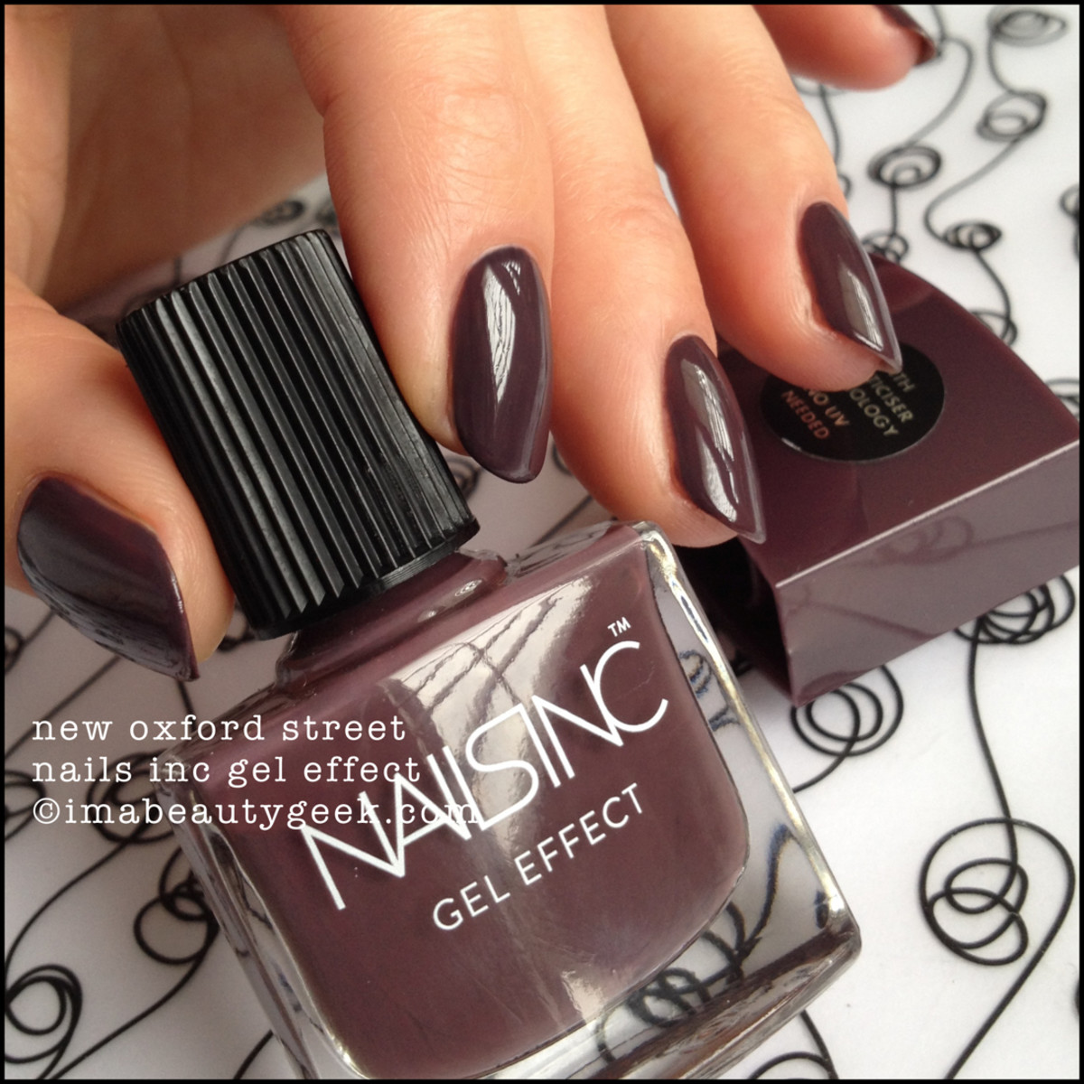 Nails Inc New Oxford Street Gel Effect Nail Polish ManiGeek Swatch