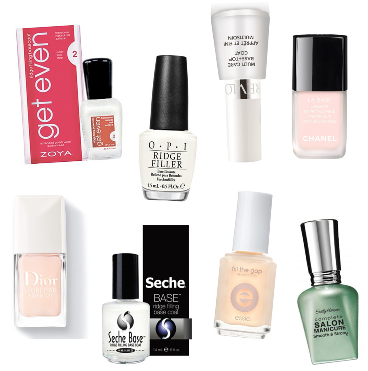Best Ridge Filling Base Coats Beautygeeks