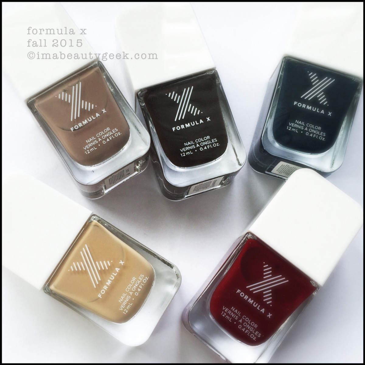 Formula X Nail Color Fall 2015 Sephora