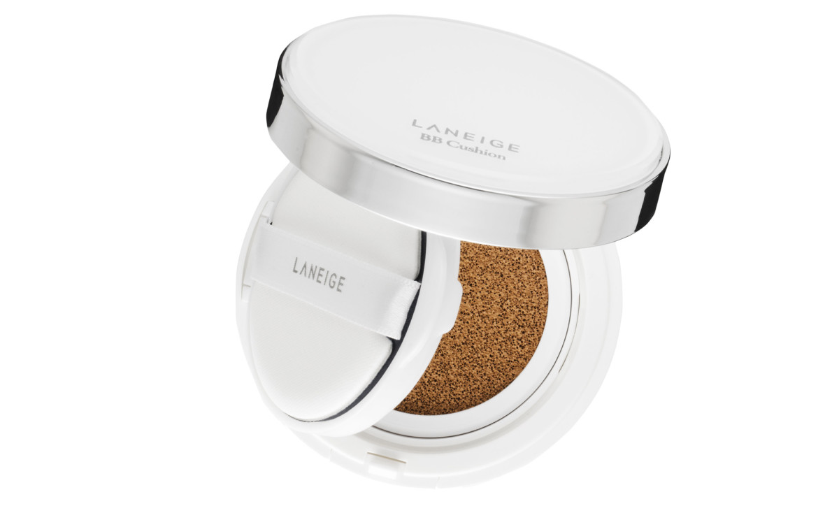 How to fake a good night's sleep with skincare when you're in your late 40s: Laneige BB Cushion SPF 50