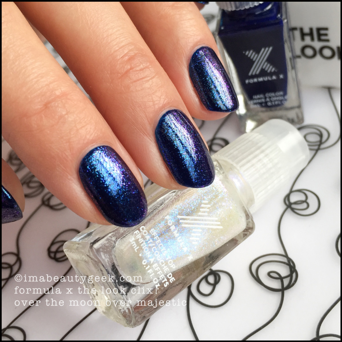 Formula X Over The Moon over Majestic The Look Clix Sephora 2015