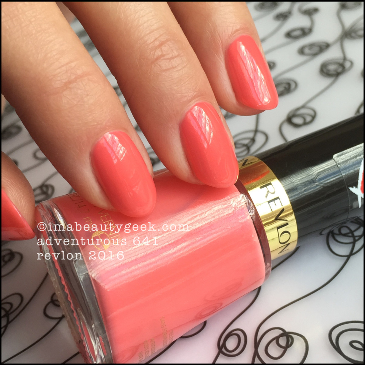 Revlon 2016 nail polish swatches and review beautygeeks revlon nail polish 2016revlon adventurous 641 nail enamel nvjuhfo Image collections