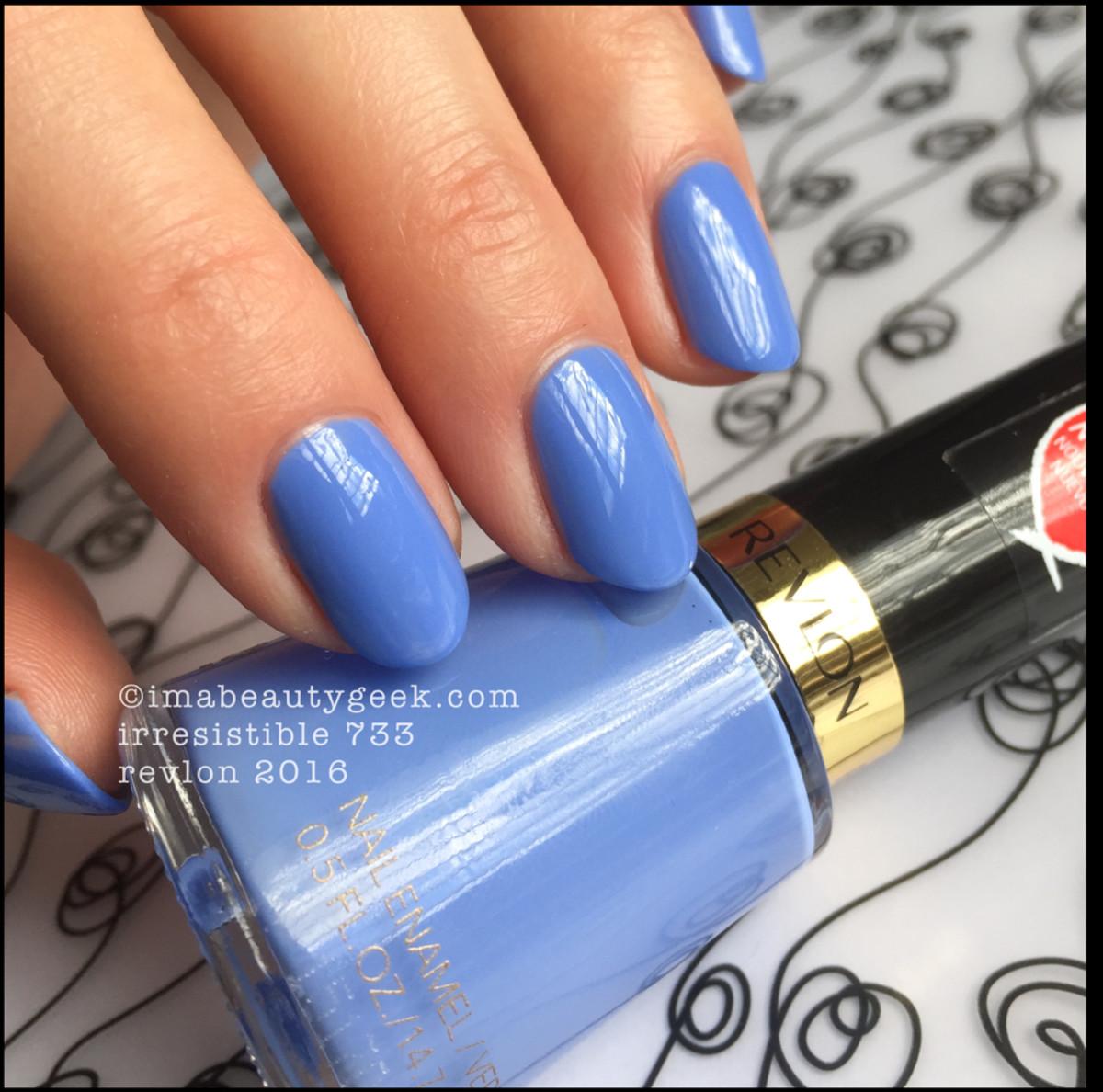 Revlon Nail Polish 2016_Revlon Irresistible 733 Nail Enamel