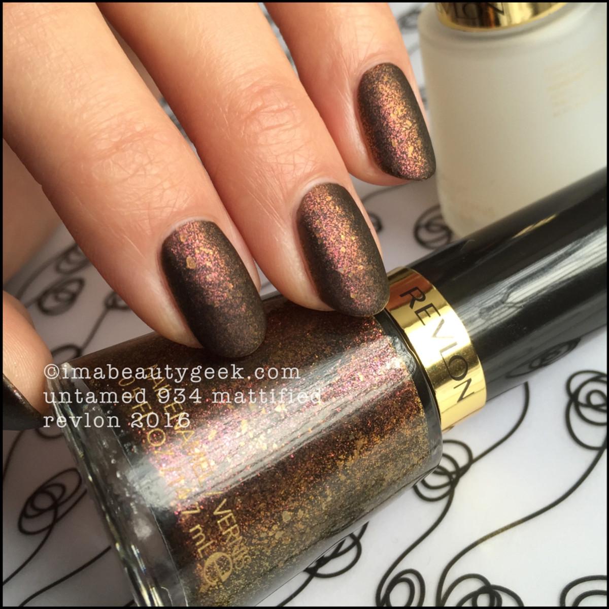 Revlon Untamed 934 Matte_Revlon Nail 2016