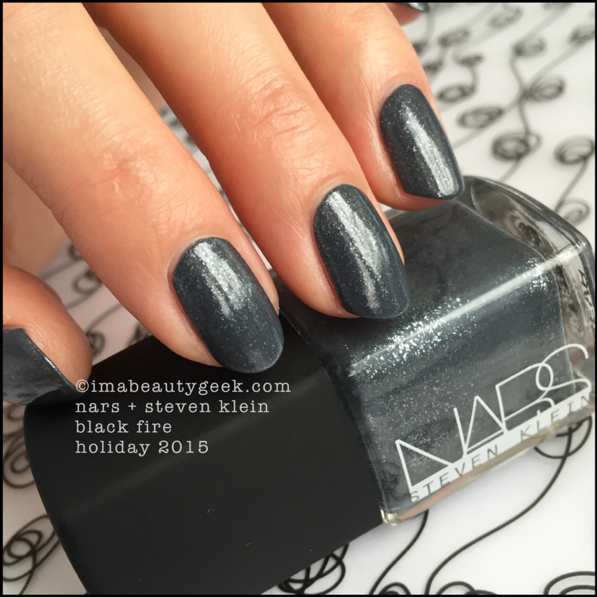 Nars Black Fire Steven Klein Holiday Nail Polish 2015