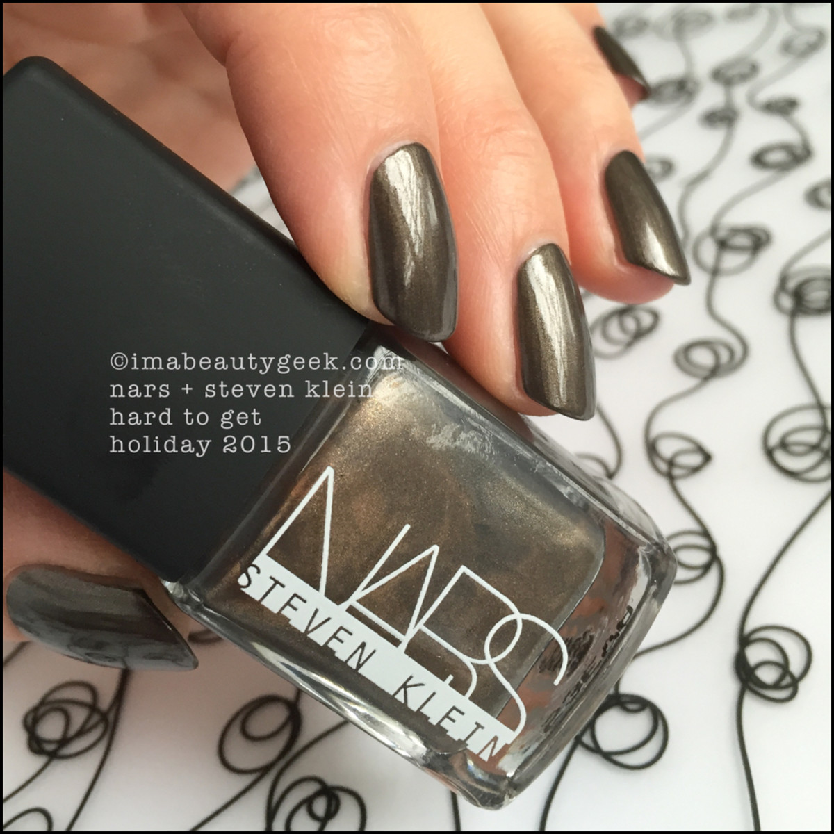 Nars Hard to Get Nail Polish Holiday 2015 Steven Klein
