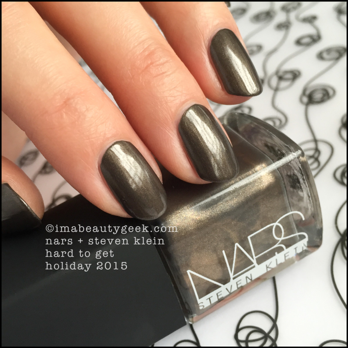 Nars Hard to Get Steven Klein Holiday Nail Polish 2015
