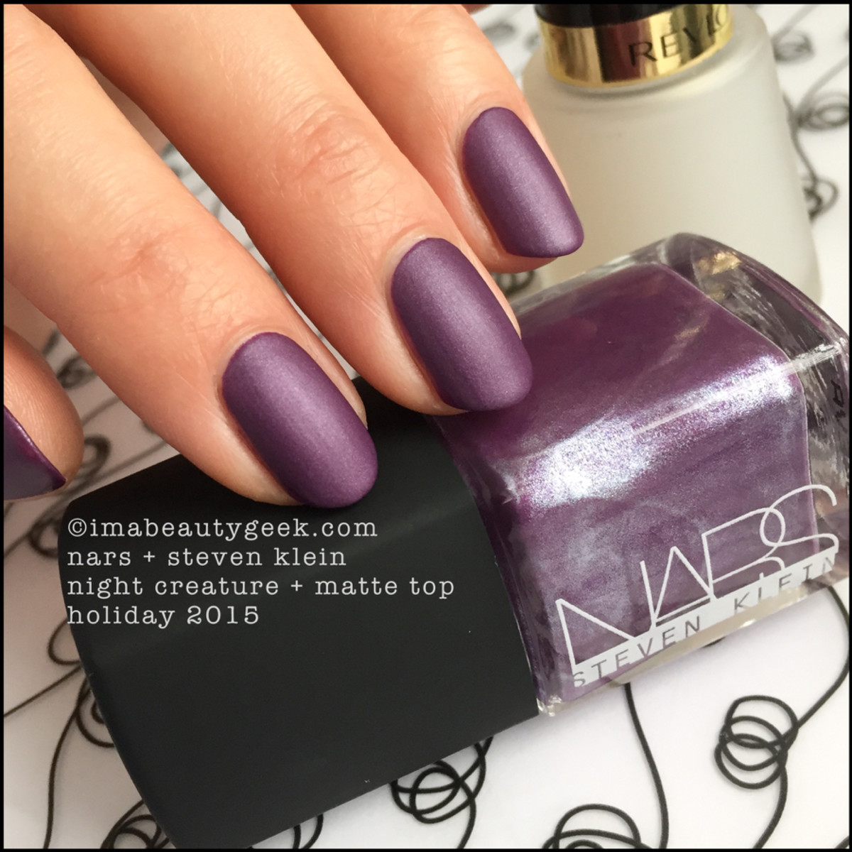 Nars Night Creature Nail Polish Matte Steven Klein Holiday 2015