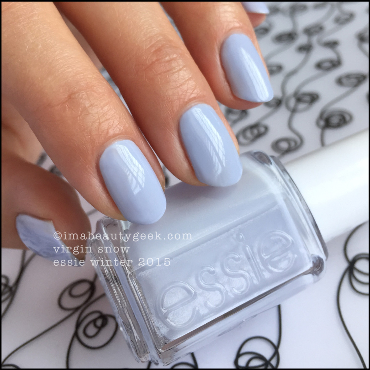 Essie Winter 2015 Collection_Essie Virgin Snow