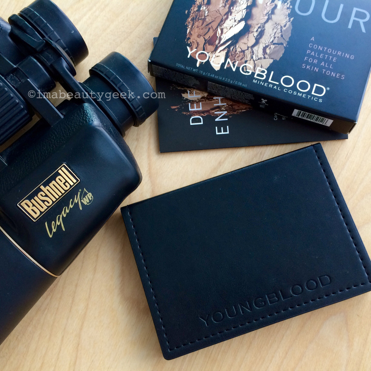 Youngblood Contour Palette and Bushnell Legacy WP binoculars... Fogo Island Inn