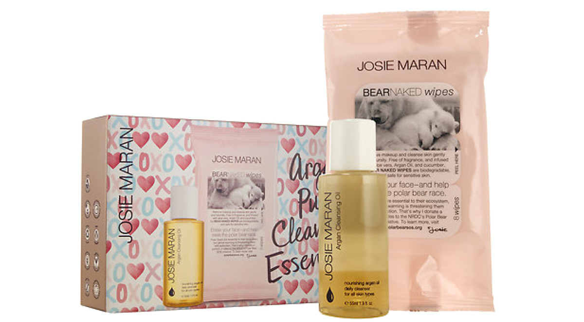 Josie Maran Argan Pure Cleansing Essentials black friday sephora