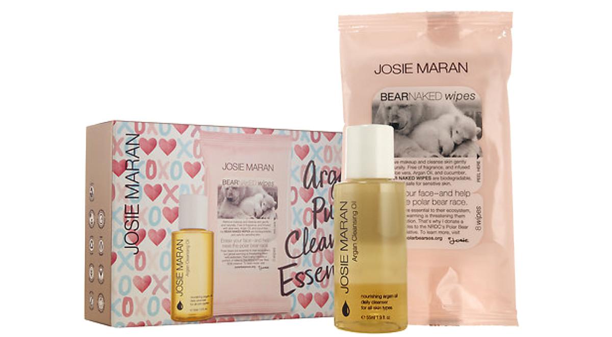 Josie Maran Argan Pure Cleansing Essentials black friday sephora
