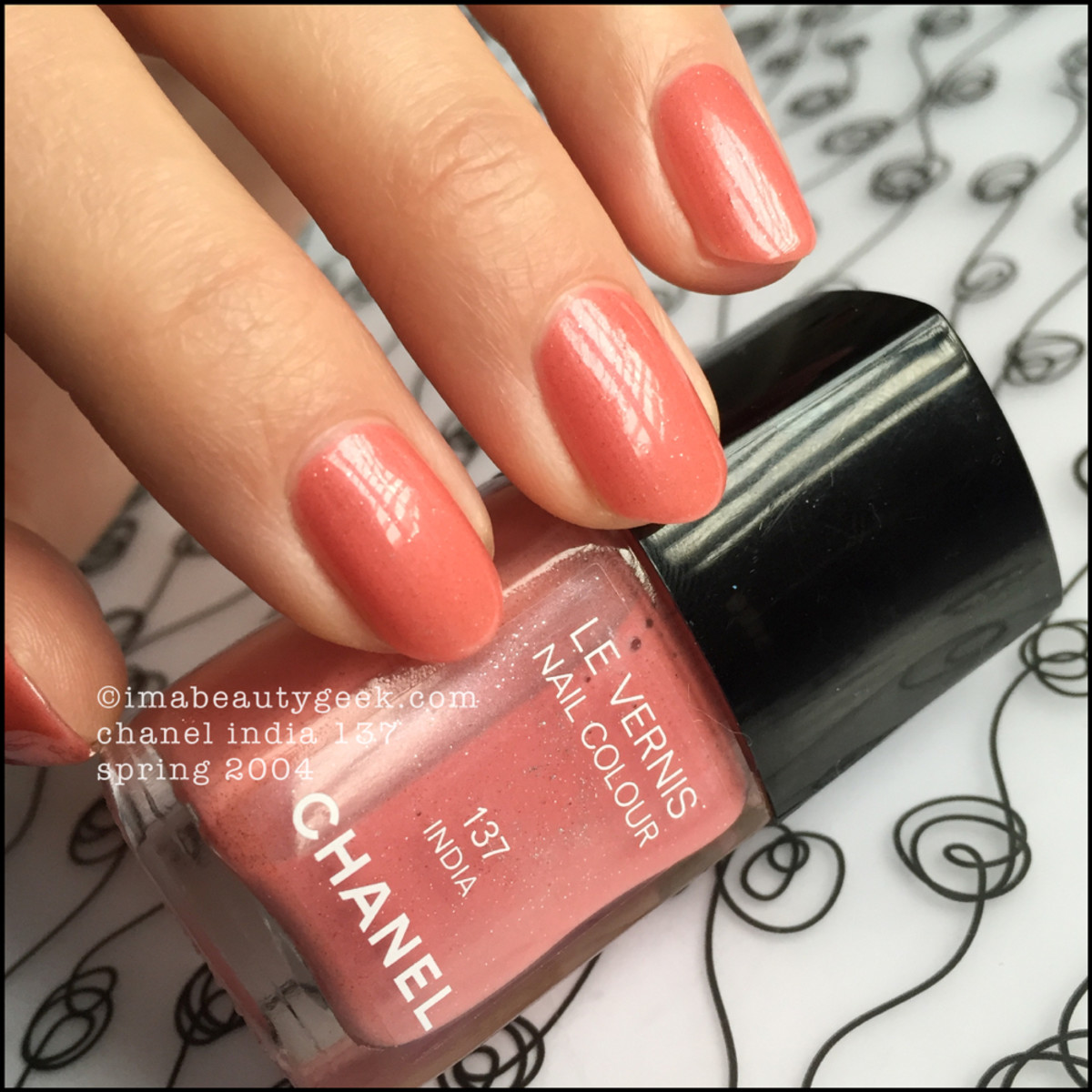 Chanel India 137 Nail Polish Le Vernis Beautygeeks