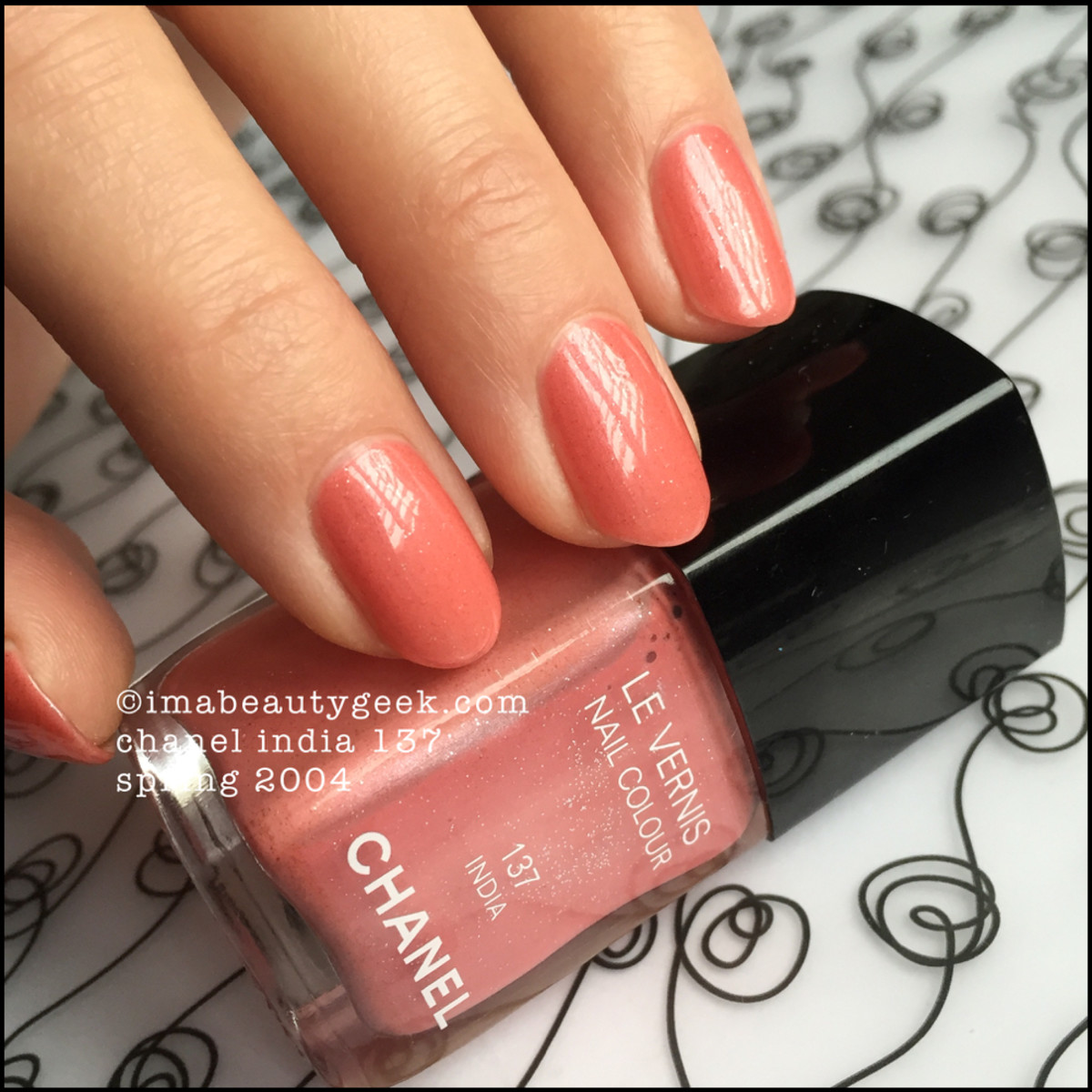 Chanel India 137 Nail Colour Vernis 2004_1