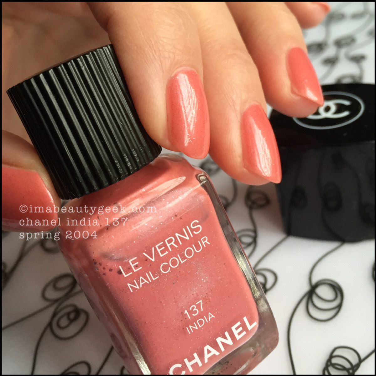Chanel India 137 Le Vernis Nail Color Spring 2004