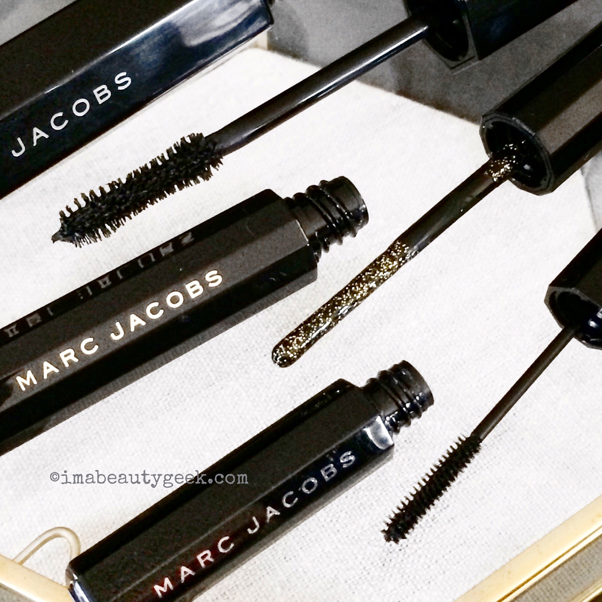 Marc Jacobs Spring 2016_Velvet Noir_Lamé Noir_Feather Noir mascaras