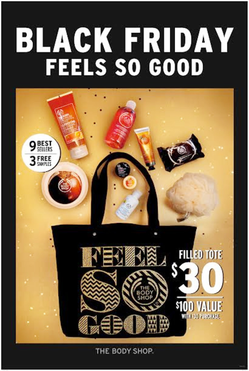 The Body Shop Canada limited-edition Feel So Good tote – there's a US version, too!