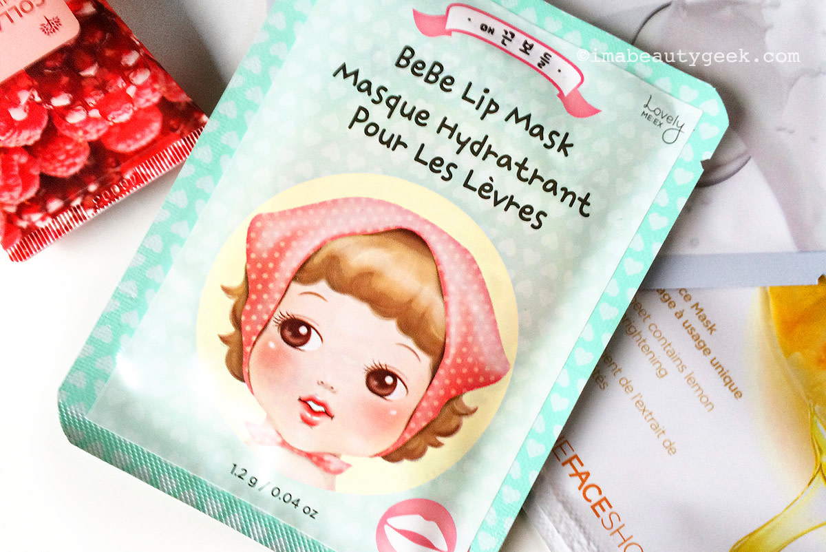 TheFaceShop Beauty Advent Calendar 2015_TheFaceShop Bebe Lip Mask