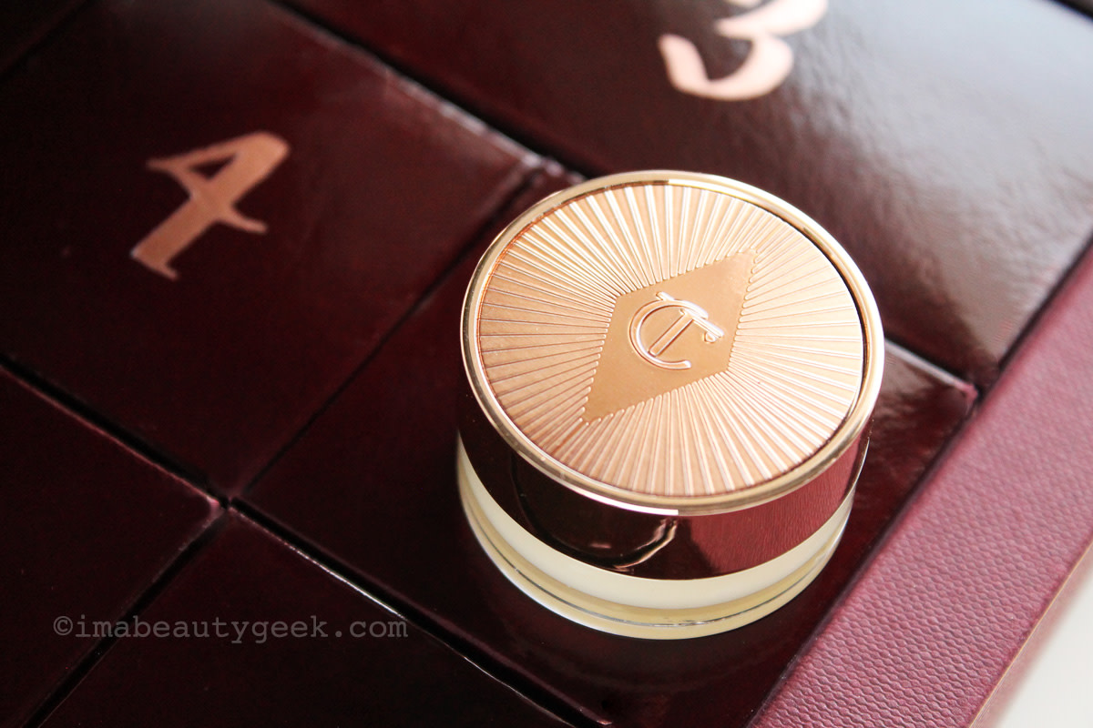 12-Day Beauty Advent Calendars: Charlotte Tilbury The Book of Makeup Magic – full-sized pot of Lip Magic Lip Care