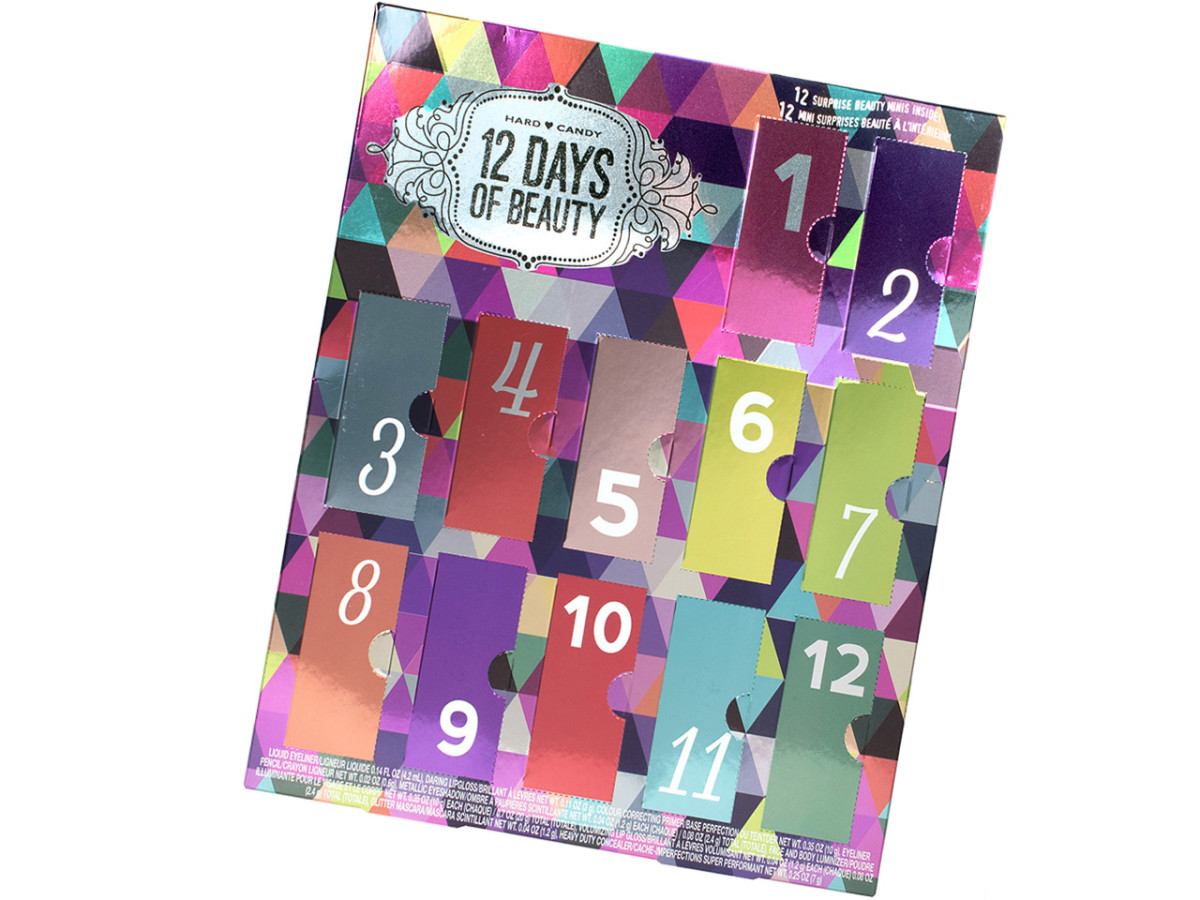 12-day beauty advent calendars_hard candy 12 days of beauty 2015