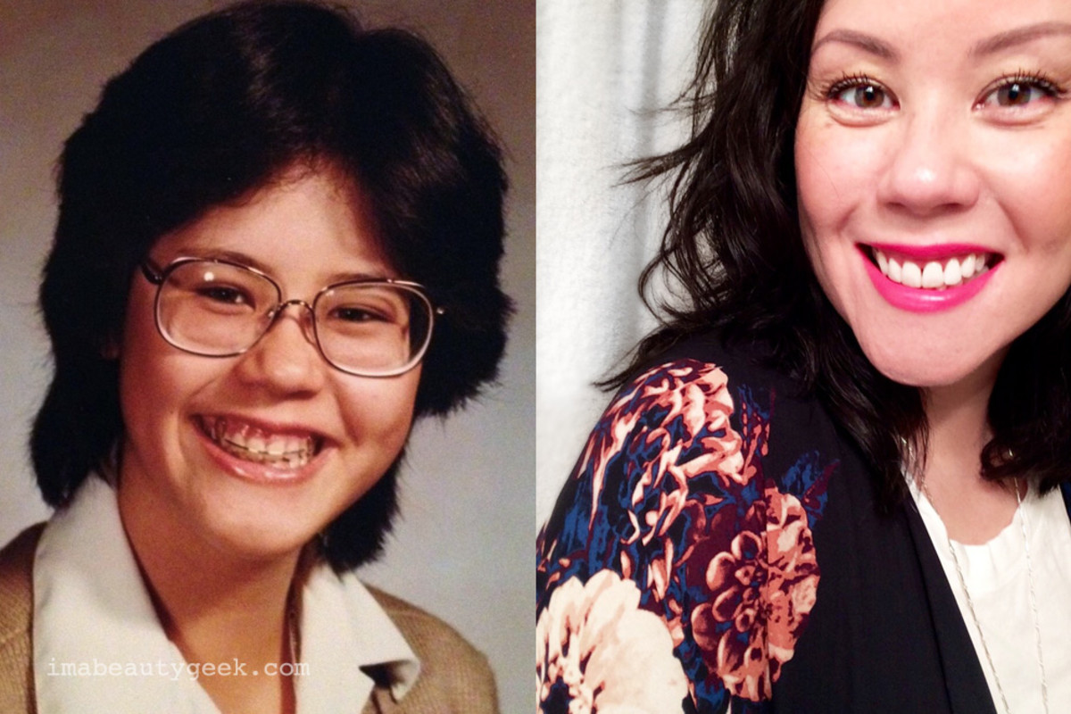 Janine Falcon 1982 and 2015