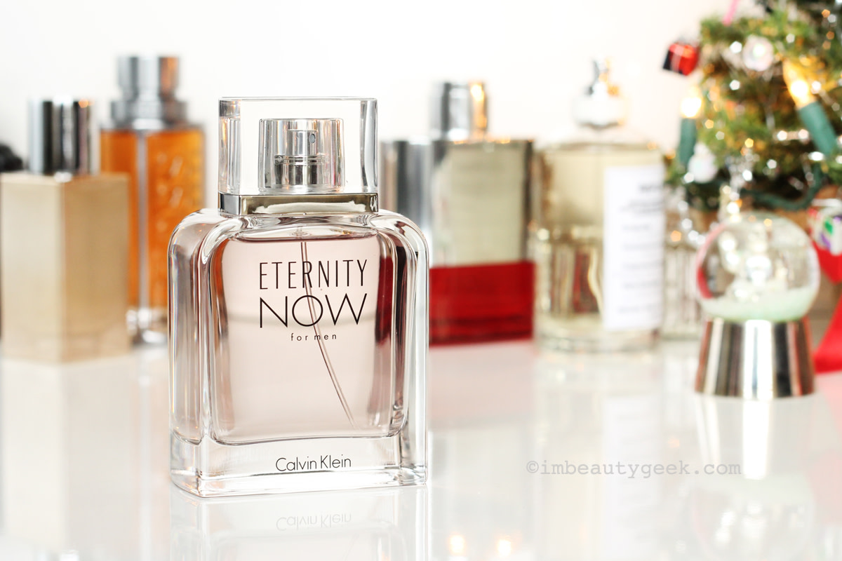 Men's fragrance gifts: Calvin Klein Eternity Now for Men