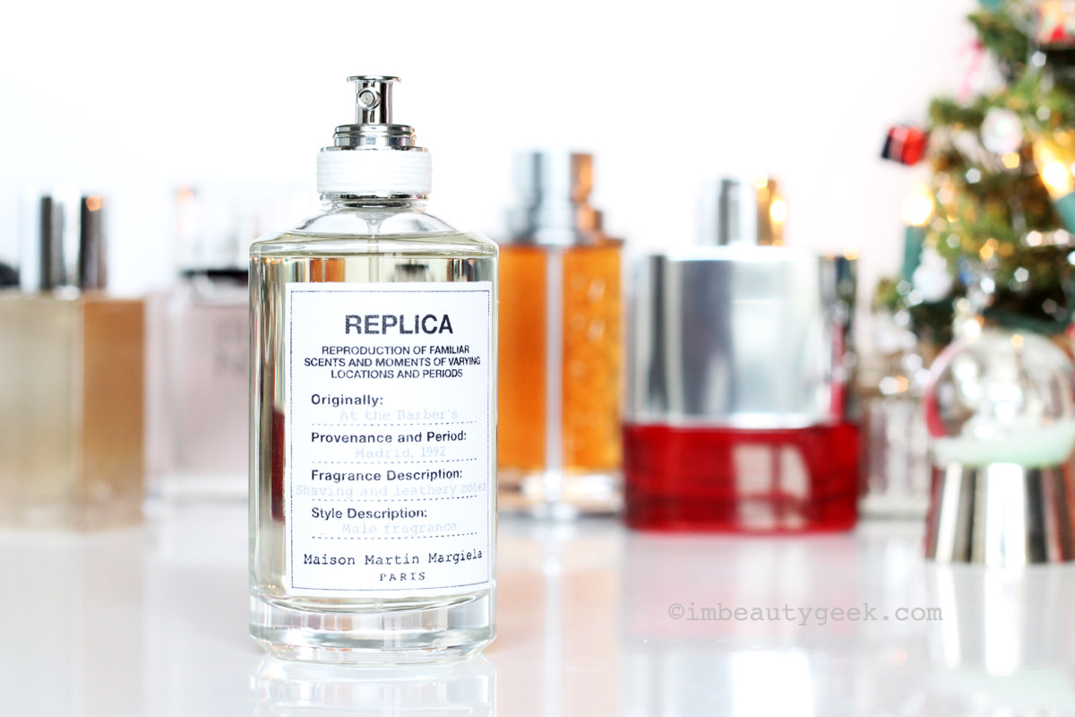 Men's fragrance gifts: Maison Martin Margiela Replica At the Barber's