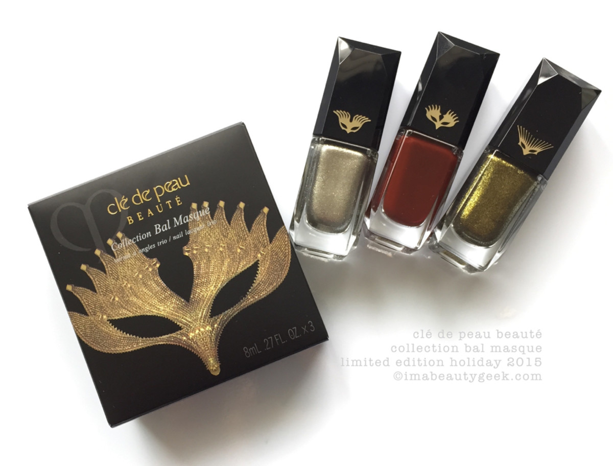 Cle de Peau Collection Bal Masque Holiday 2015 - Version 2