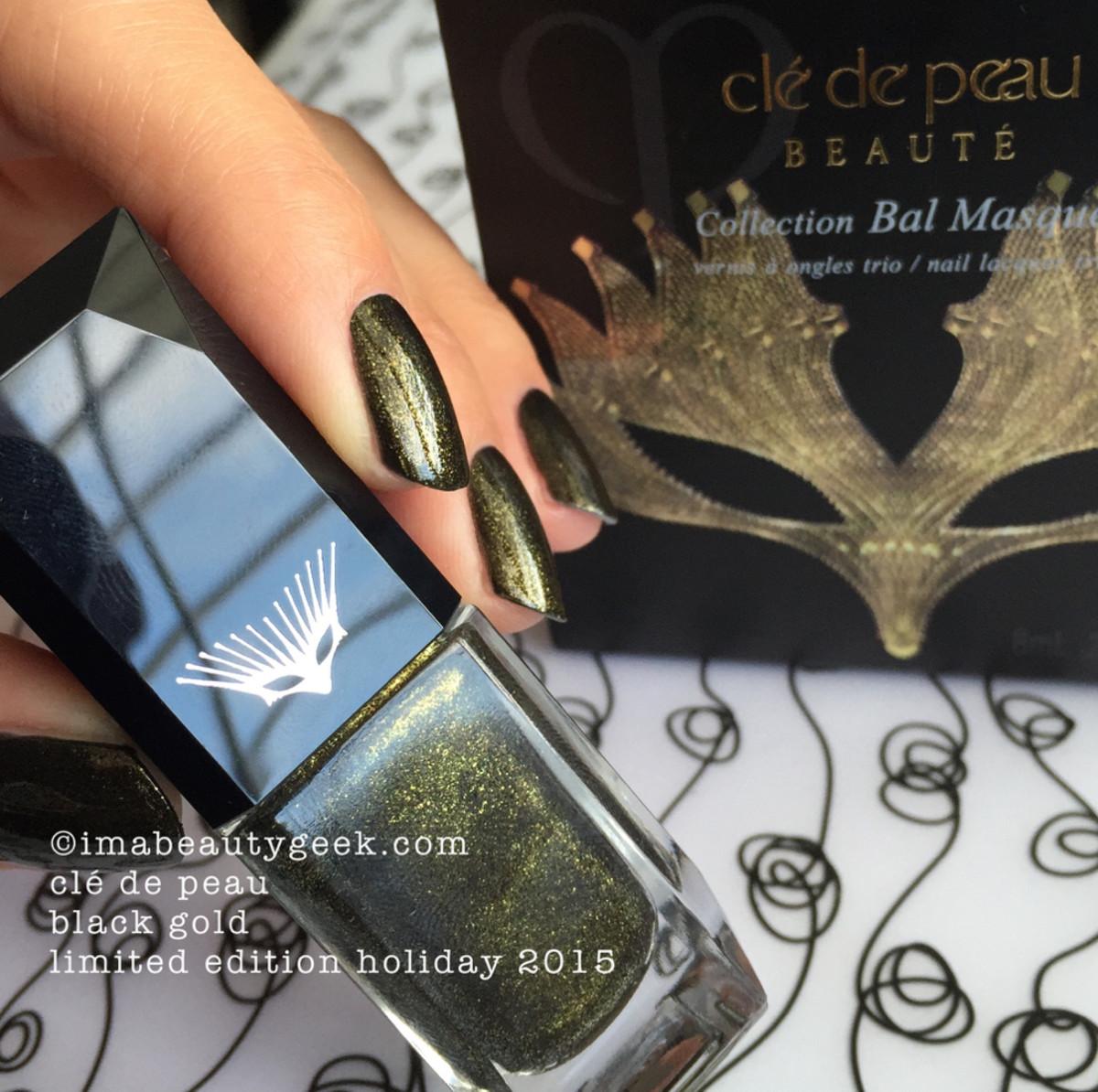 Cle de Peau Bal Masque Nail Polish Trio Holiday 2015