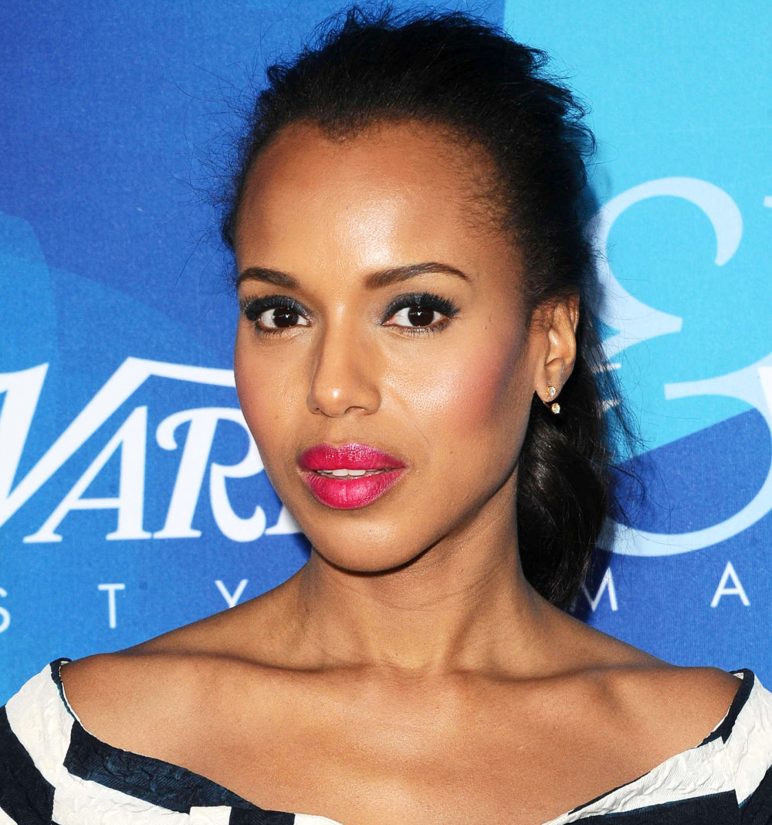Kerry Washington is already a celebrity face for Neutrogena