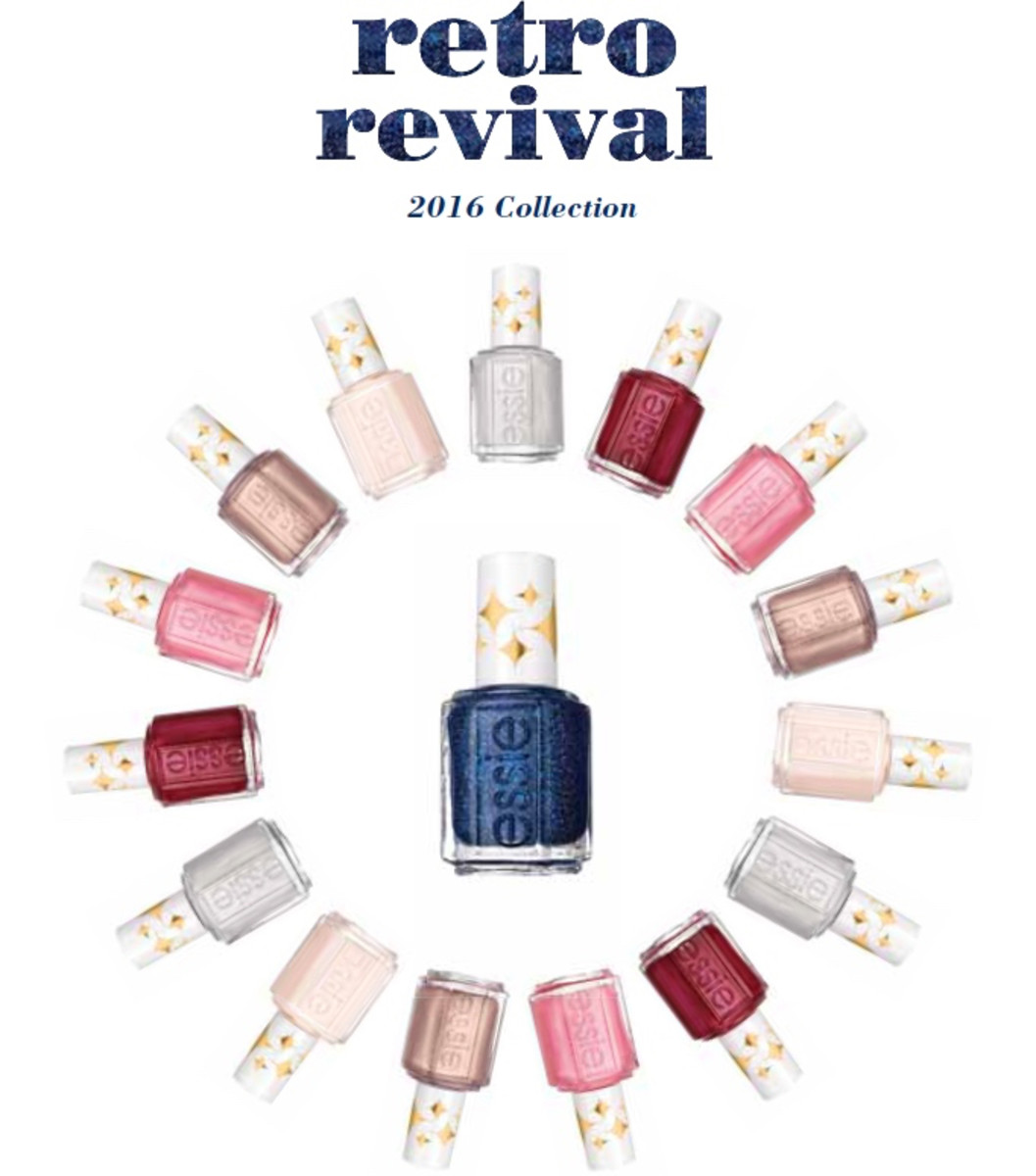 ESSIE STARRY STARRY NIGHT RETRO REVIVAL COLLECTION SWATCHES & REVIEW ...