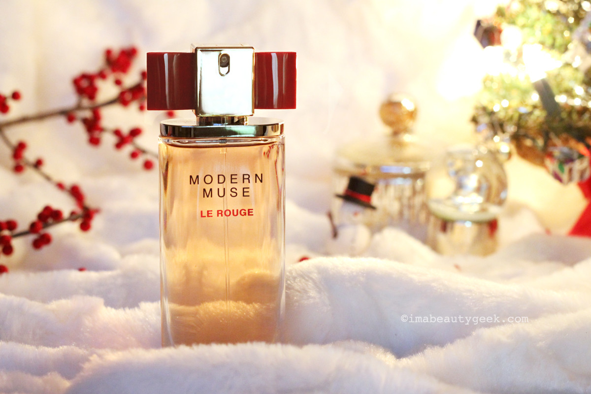 Estee Lauder Modern Muse Le Rouge_Holiday fragrance gift guide