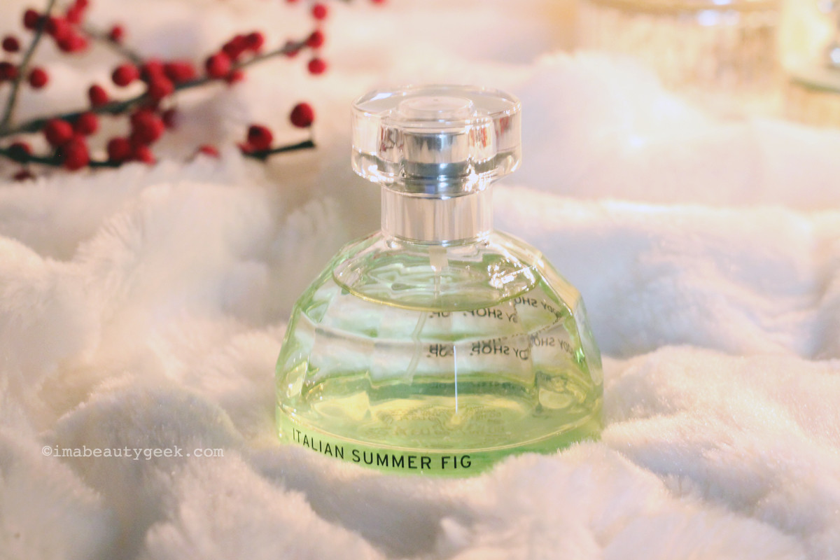 The Body Shop Italian Summer Fig_best holiday fragrances