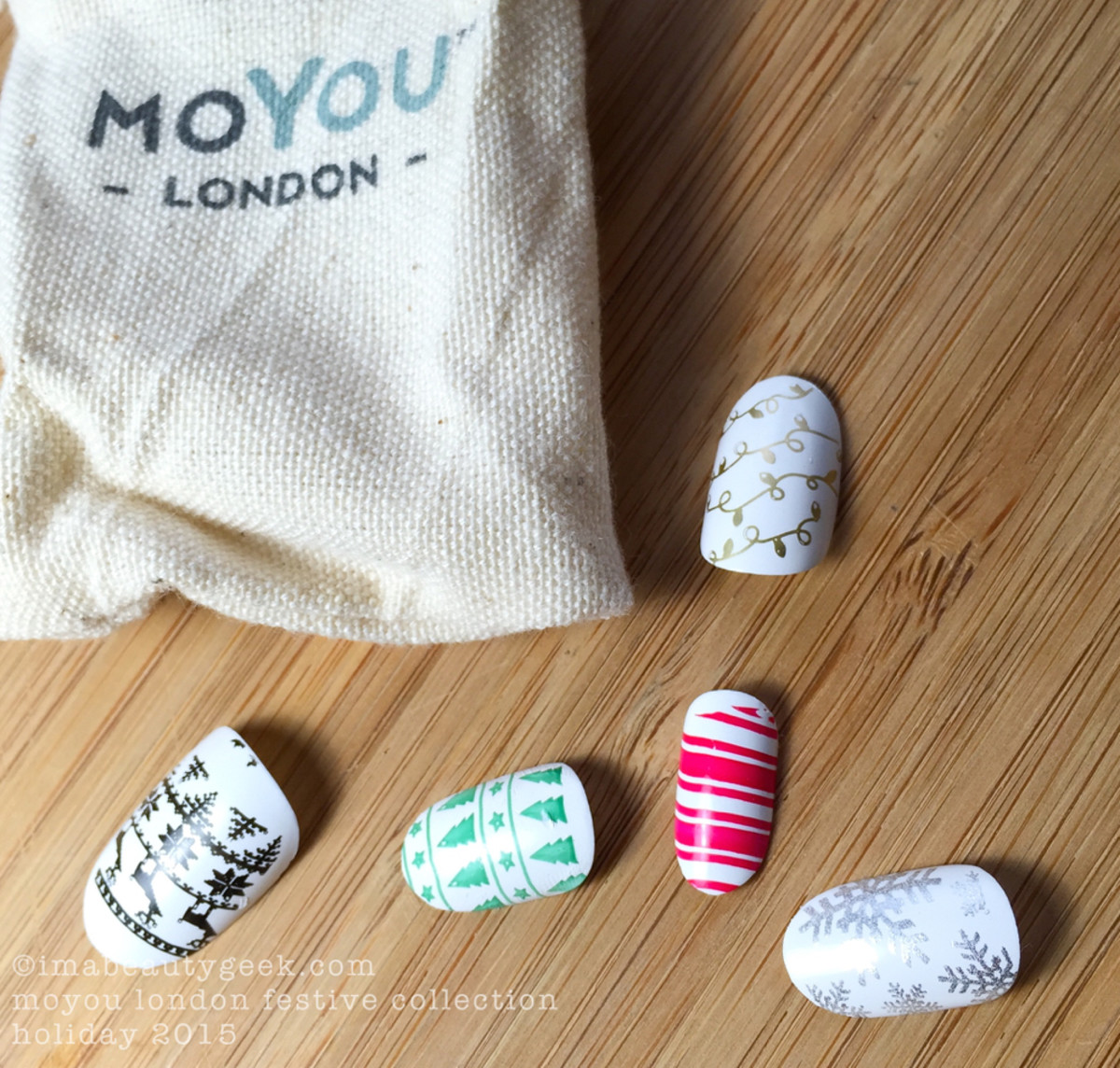 MoYou London Stamping Plate Festive Collection 2015
