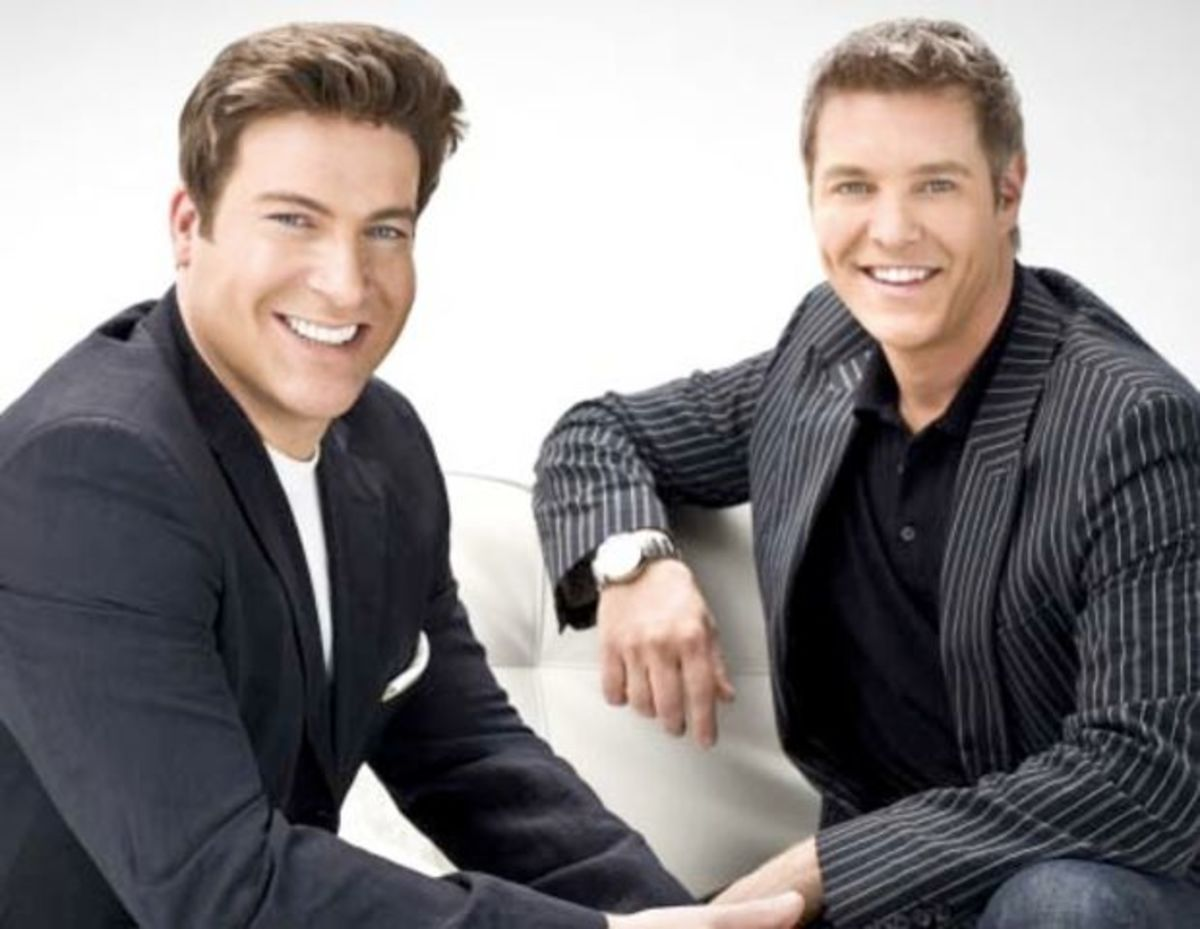 "Chris Hyndman and Steven Sabados of CBCs ""Steven and Chris"""