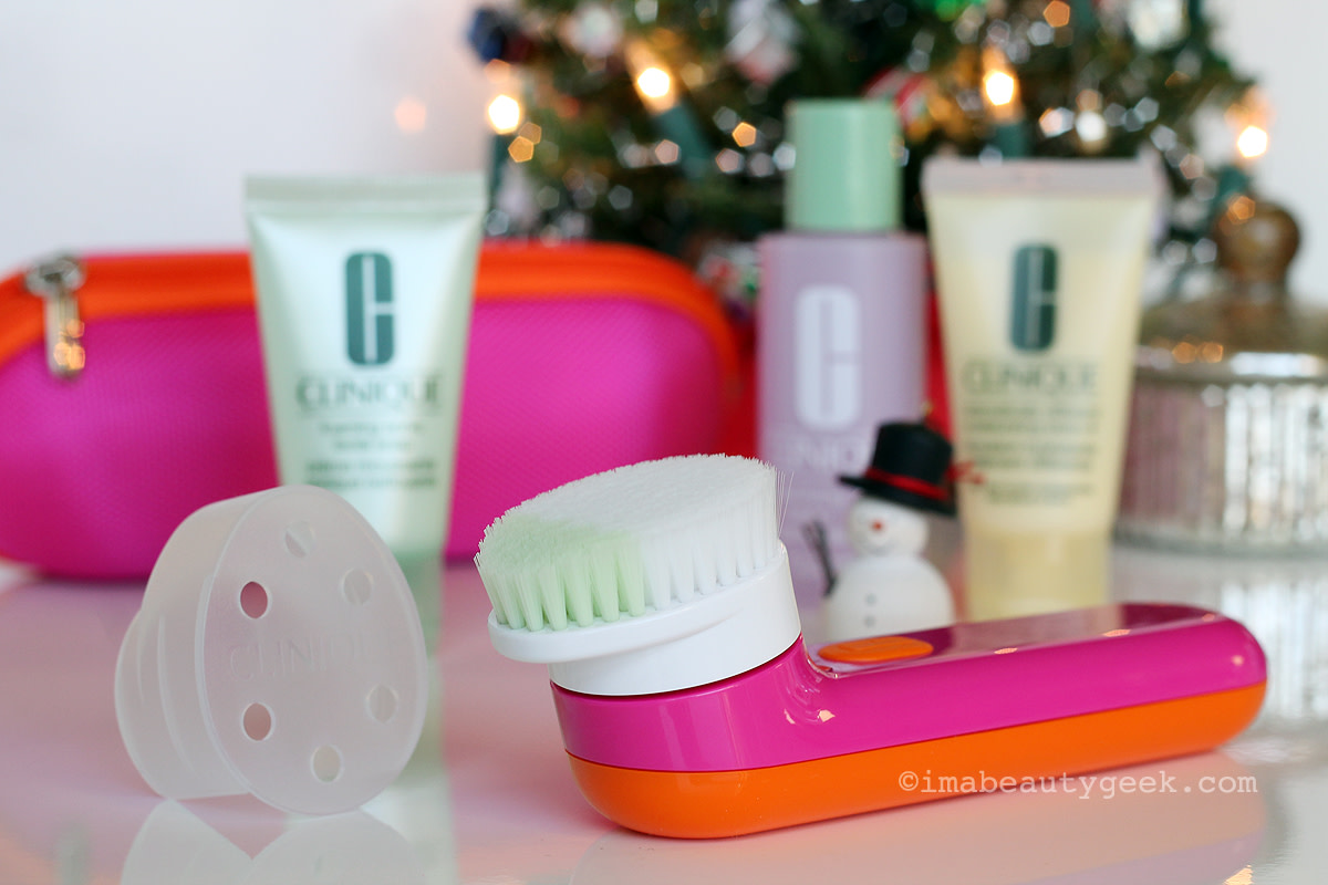 Clinique Sonic System Cleansing Brush Set for Drier Skin