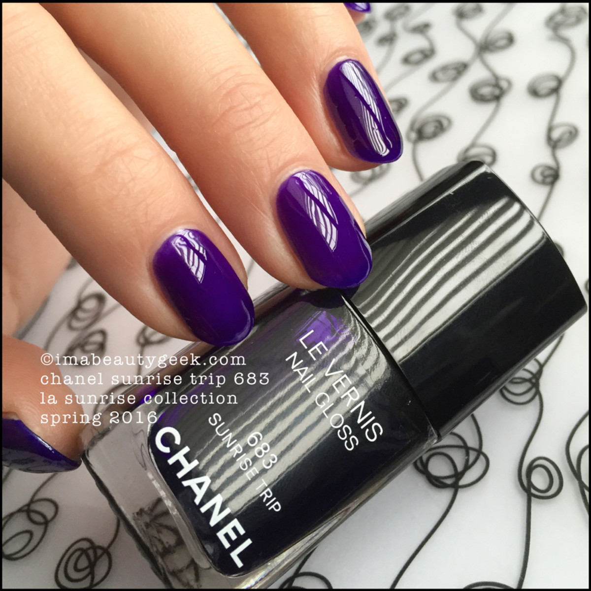 Chanel Sunrise Trip Nail Gloss 683_Chanel LA Sunrise Collection 2016