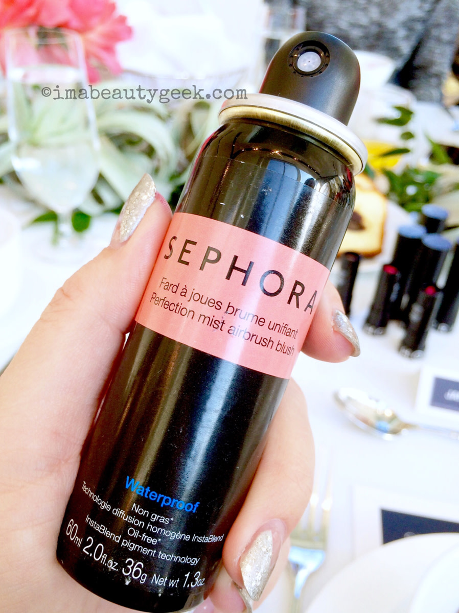 Does Sephora Do Makeup: SEPHORA PERFECTION MIST AIRBRUSH BLUSH