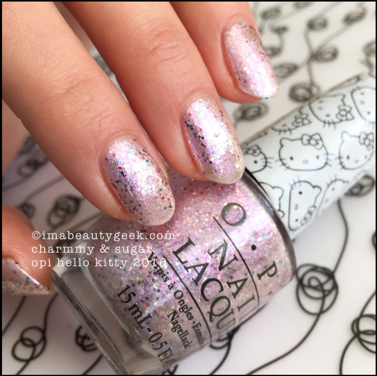 OPI Charmmy and Sugar_OPI Hello Kitty Collection 2016