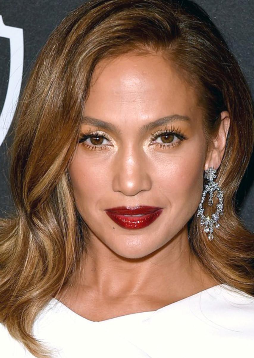 Jennifer Lopez Golden Globes 2016 Hair Color Trends 2017 2018 How To Refresh Locks