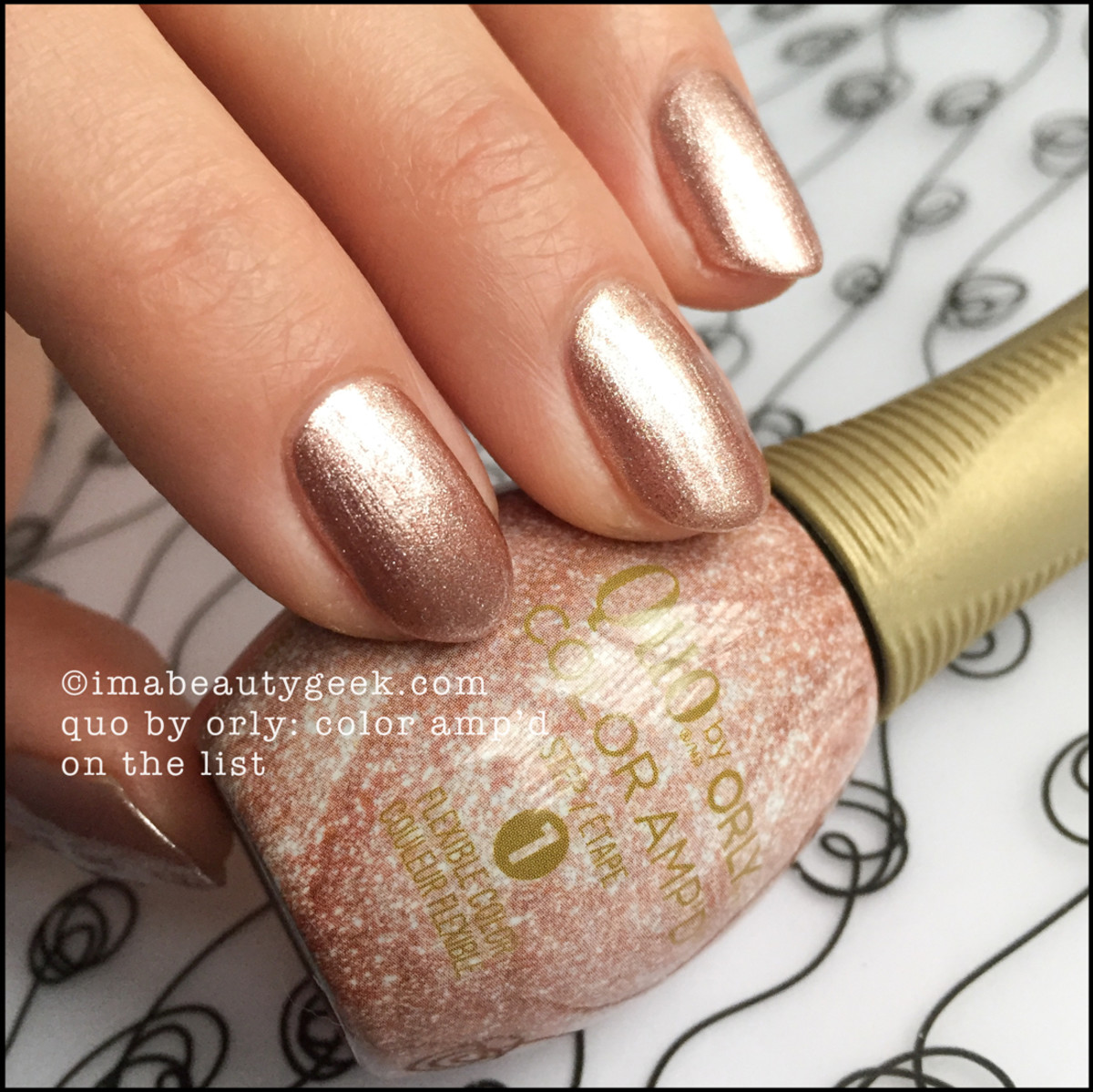 Quo by Orly On The List Color Ampd Orly Epix Swatches