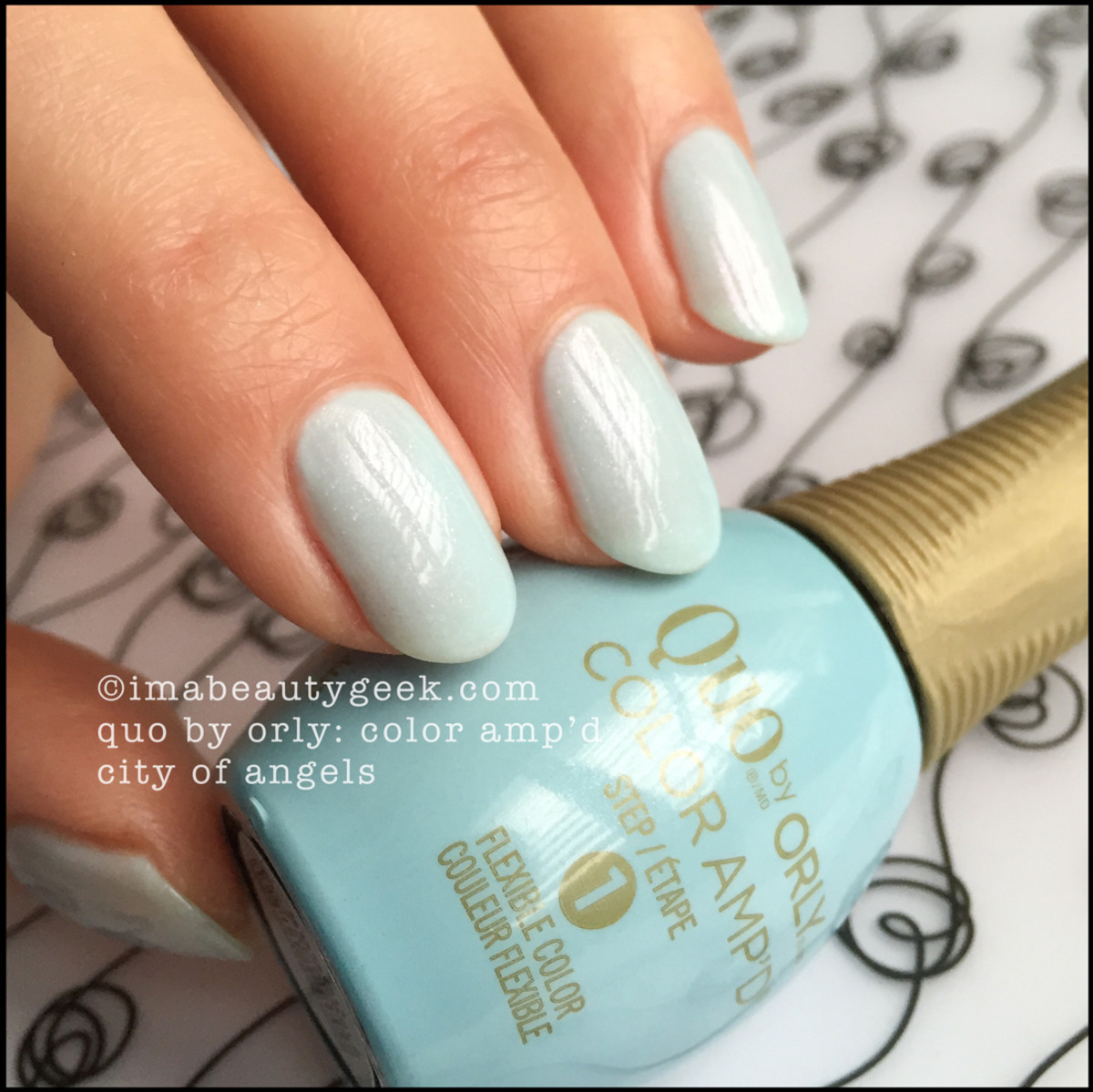 Quo Color Ampd City of Angels_Quo by Orly Swatches