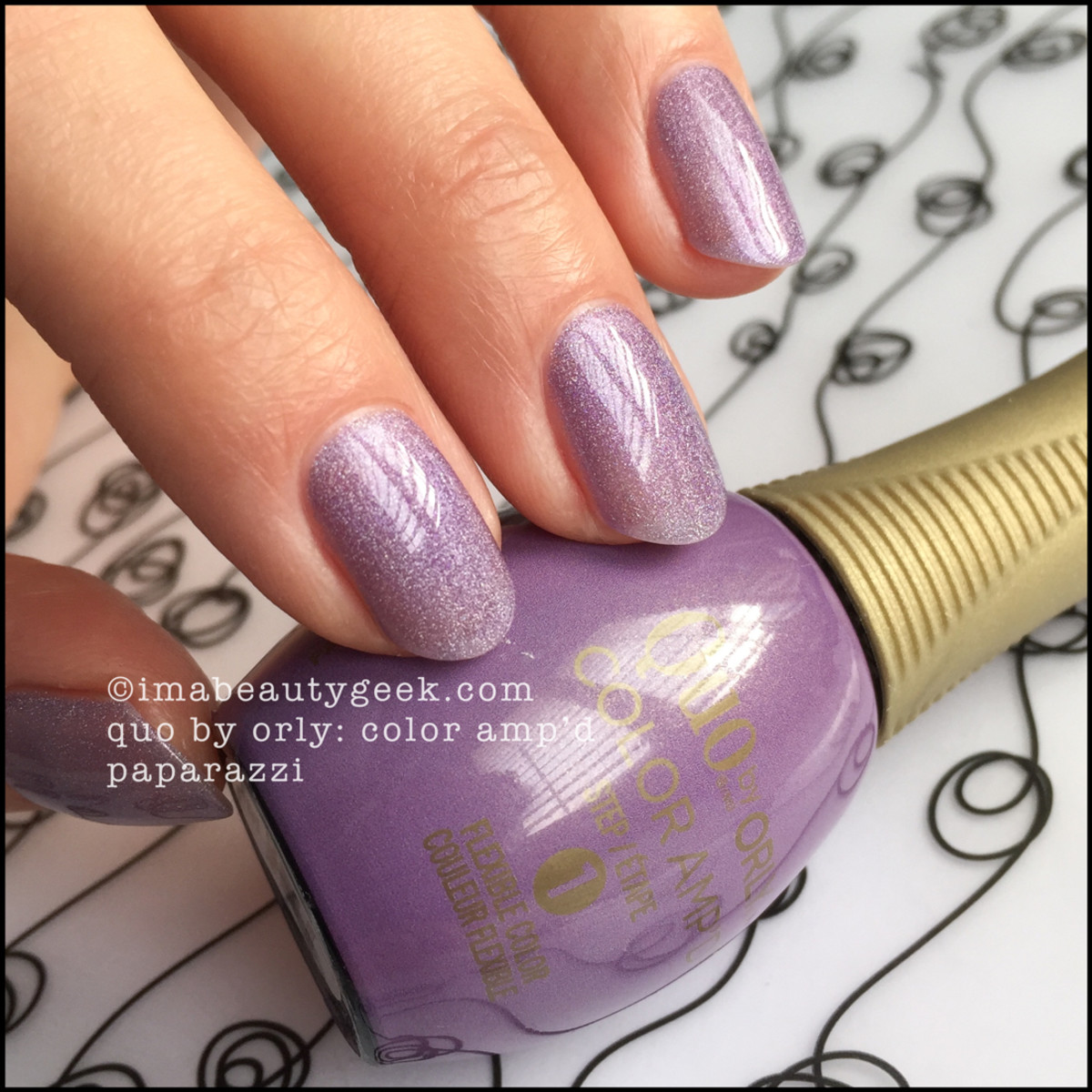 Quo Color Ampd Paparazzi_Quo by Orly Epix Swatches